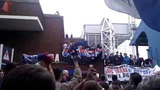 Crystal Palace FC Fans protest, Selhurt Park 1st June 2010
