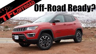 2019 Jeep Compass Trailhawk Snowy Moab Review: How Good Is It Off-Road? (Part 1 of 3)