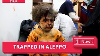 Rebel-held Aleppo's last hospital