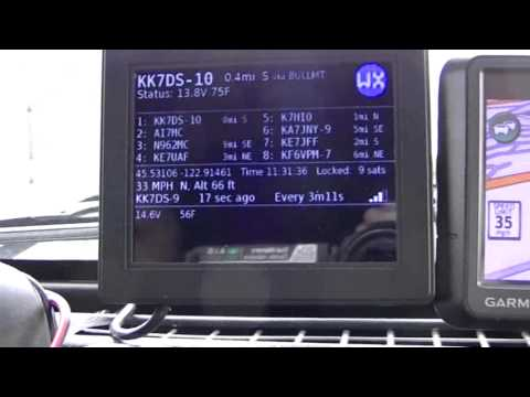 A custom APRS tracker with a real screen | Right Angles