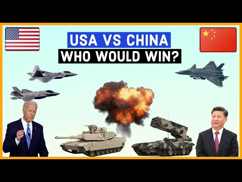 USA VS CHINA Military Power Comparisons 2020.