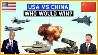USA VS CHINA Military Power Comparisons 2021.