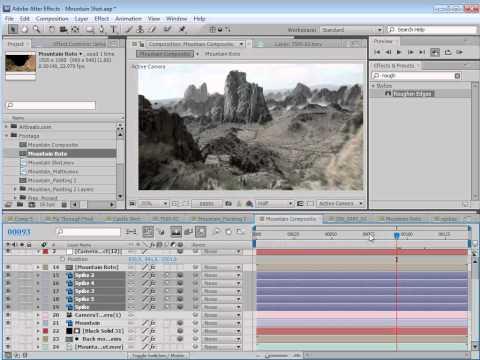 3D Set Extensions tutorial by VideoCopilot