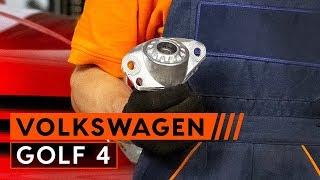 VW GOLF IV (1J1) Halter, Stabilisatorlagerung auswechseln - Video-Anleitungen