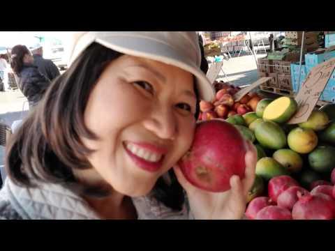 Chợ trời mua trái cây ở San Jose, California - Người Việt ở Mỹ