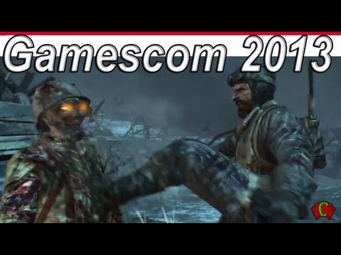 Gamescom 2013 Trailers - CALL OF DUTY Black Ops 2 ORIGINS Intro Cinematic 【Zombie HD】