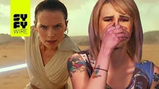 SYFY WIRE Reacts To Star Wars: Episode IX - The Rise Of Skywalker Trailer | SYFY WIRE