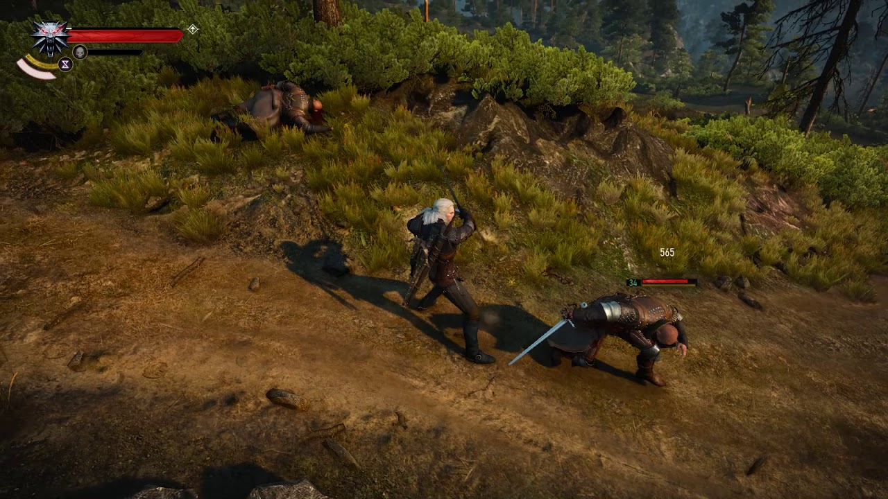 The Witcher 3 New Mod Improves Combat Animations
