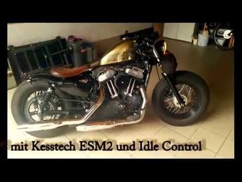 kess tech esm 2 harley davidson sportster 48 und idle. Black Bedroom Furniture Sets. Home Design Ideas