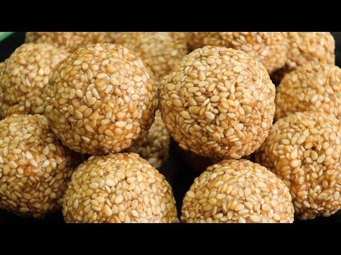 How to make Nuvvula Laddu II Nuvvula laddu recipe by shravani kitchen in telugu