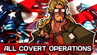 BROFORCE - ALL COVERT OPERATIONS & Upgrades
