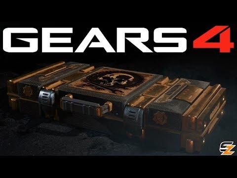 Gears of War 4 Gear Packs - Opening 13 GEARS ENGINEERS PACKS!