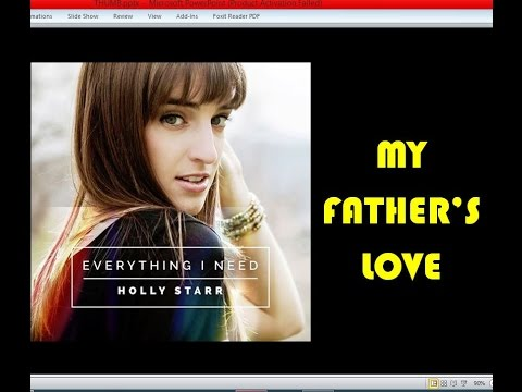 Holly Starr - My Father's Love (Lyrics)