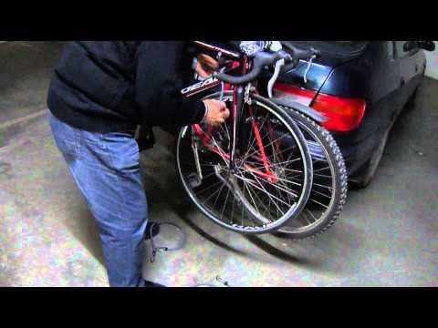 Σχάρα αυτοκινήτου κοτσαδόρος - Βάση ποδηλάτου
