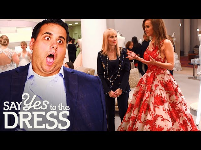 Bride Wants a Big Dress for Her Big New Years Wedding! | Say Yes To The Dress