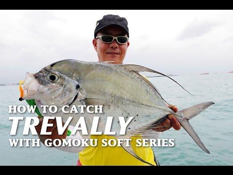 How to Catch Trevally (Sagai) with Storm Gomoku Soft Series Micro Soft Plastics