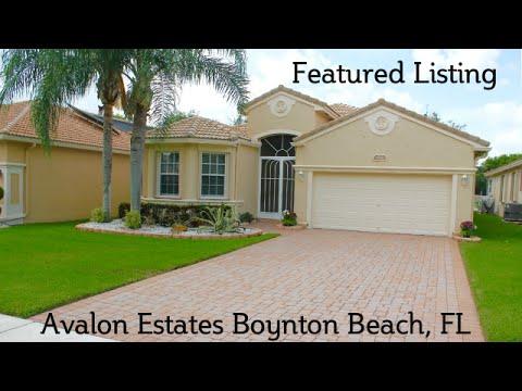MLS Listing Video Avalon Estates House for Sale Boynton Beach, FL