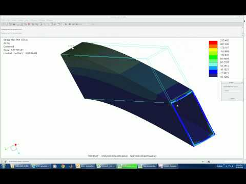 Creo Simulate Tutorial - Beam Analysis