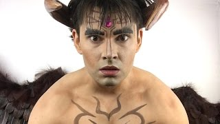 Devil Jin TEKKEN Makeup Tutorial