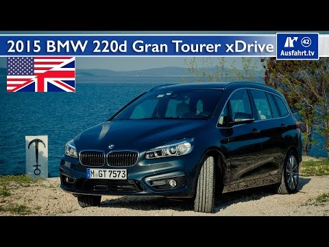 2015 BMW 220d Gran Tourer xDrive - Test, Test Drive and In-Depth Car Review (English)