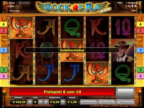 Book of Ra online am PC spielen [Book of Ra Deluxe Edition]