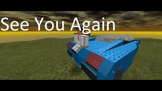 Wiz Khalifa- See You Again (Roblox Music Video)