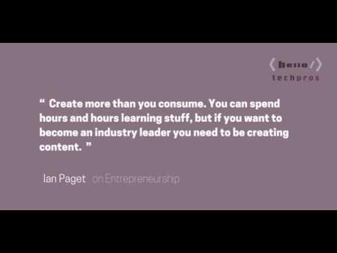 111: The Logo Geek — Ian Paget on Entrepreneurship