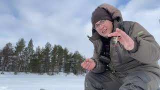 Зимняя рыбалка в марте 2021г ЛОВЛЯ ОКУНЯ НА БАЛАНСИР