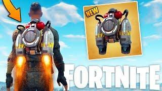 *NEW* JETPACK GAMEPLAY -  Fortnite Jetpack Update - (Fortnite Battle Royale Gameplay)