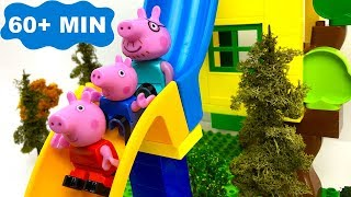 Download CUENTOS INFANTILES DE PEPPA PIG A LA PARQUE AQUATICO CON TOBOGANES Mp3 and Videos