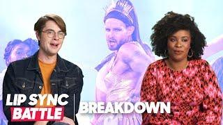 Nico Tortorella vs. Molly Bernard Reactions w/ Jeffery Self & More | Lip Sync Battle Breakdown