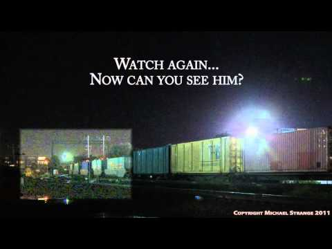 Idiot hopping a freight train in Melbourne - A very dangerous thing to do! - PoathTV