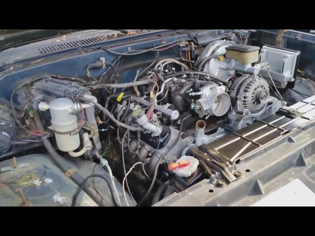 Riding Mower - 1984 C10 Project ---- LS Swap Part 5 (Front Cap, PCM