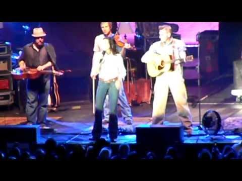 Joey & Rory live in Everett WA singing no good white trash...