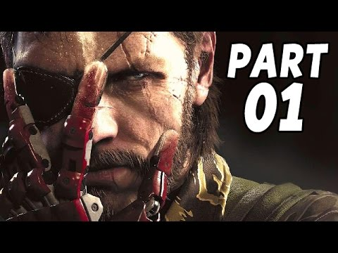 Let's Play Metal Gear Solid 5 The Phantom Pain Gameplay German PS4 Deutsch Part 1 Big Boss ist back