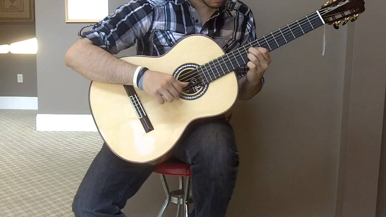 7c9e5d9a6 Cordoba Luthier Series  C9 SP MH Spruce Top - YouTube