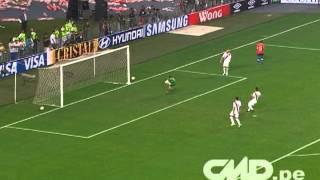 Perú 1-0 Chile (Fecha 11 - Clasificatorias 2014)