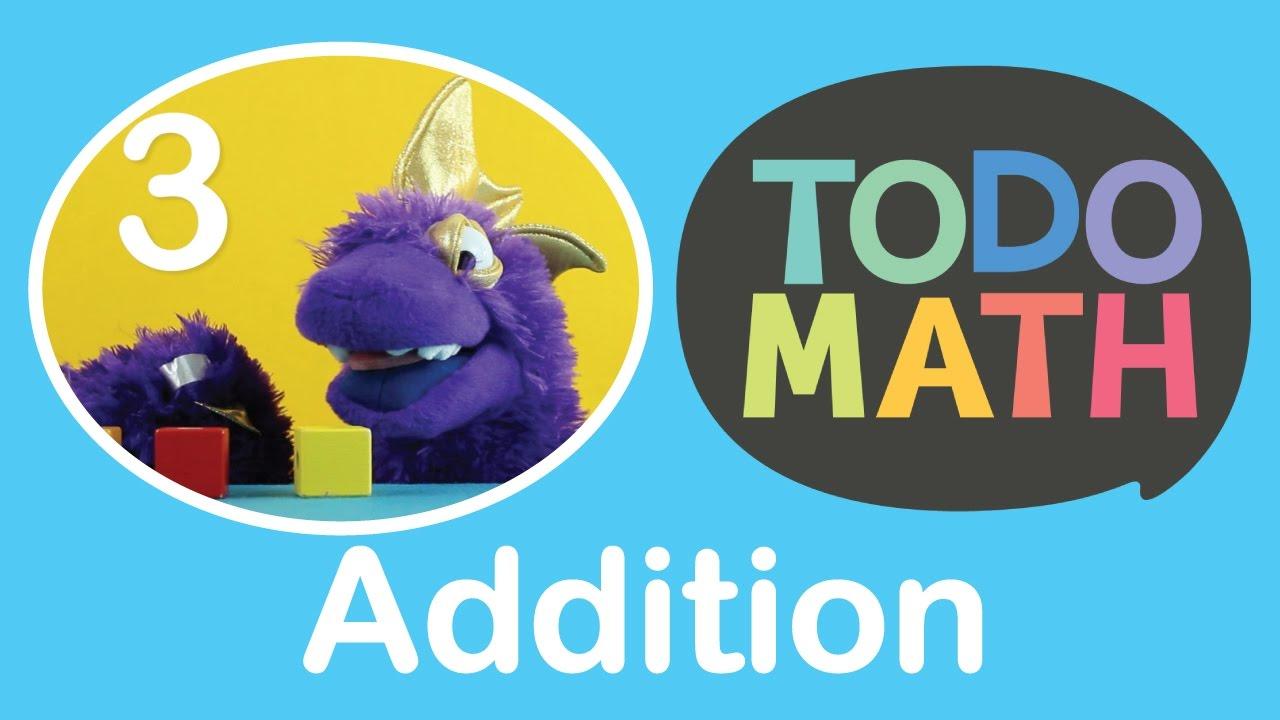 Addition for Kindergarten - Todo Math Stories - YouTube
