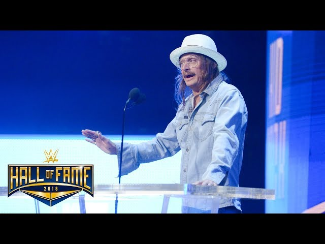 Kid Rock gets serious about life on the road in WWE: WWE Hall of Fame 2018 (WWE Network Exclusive)
