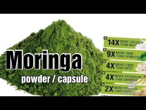 moringa/malunggay capsule business