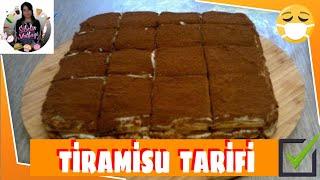 ( Pasta )Tiramisu Tarifi Nasıl yapılır ? Sibelin mutfağı ile yemek tarifleri