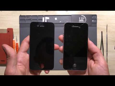 "Ремонт IPhone 4/4s замена дисплея, экрана, тачскрина (разборка)  --- СЦ ""UPservice"" г.Киев"