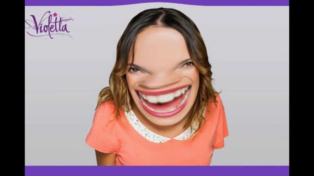 violetta deforme (sin maquillaje)