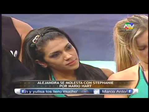 Alejandra Baigorria se molesta con Stephanie por Mario Hart 07/05/13