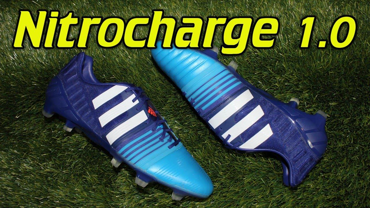 cd928a00d 7221f de108  clearance adidas nitrocharge 1.0 2015 amazon purple lucky blue  review on feet youtube 19361 057f7