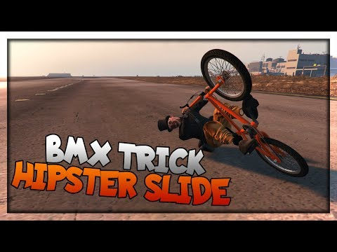 "GTA 5 - How to Do A Hipster Slide ""BMX Trick Tutorial!"""