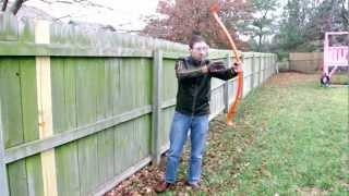 Dry-firing a PVC Bow a Dozen Times!