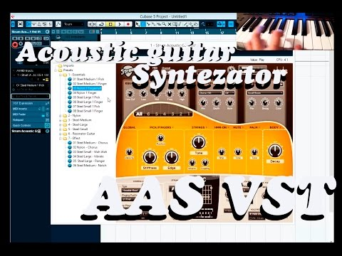 Acoustic guitar AAS lll Best VST Synth & Plugin CATALOG