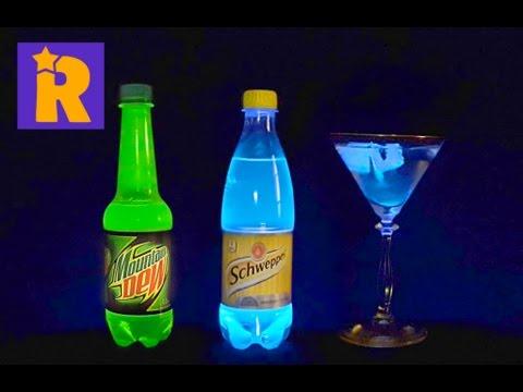 рецепт светящегося коктейля