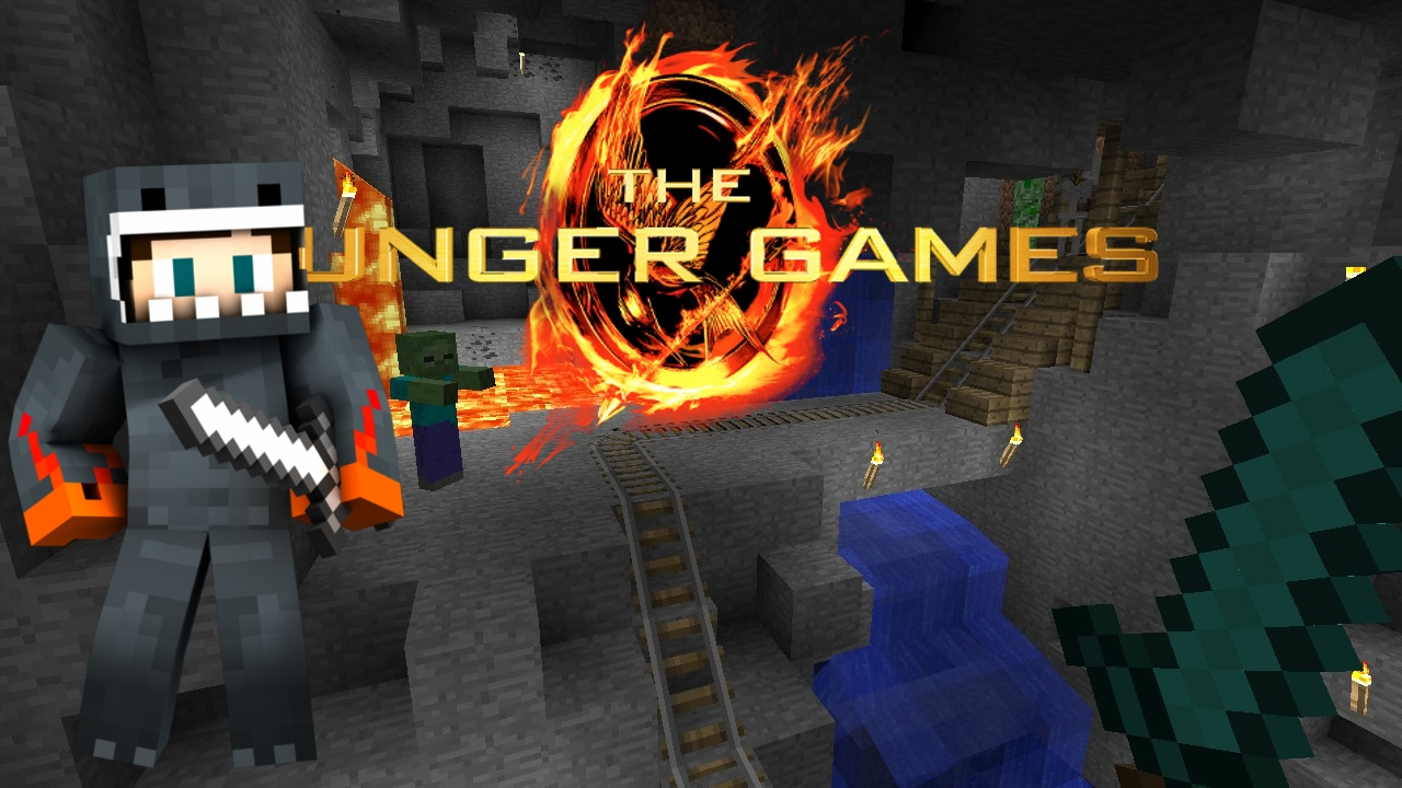 HUNGER GAMES PVP MINECRAFT MAP GROTTE CAVERNE PS FR YouTube - Minecraft die grobten hauser